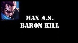 Yasuo - 2.5 Max Attack Speed & Baron Solo