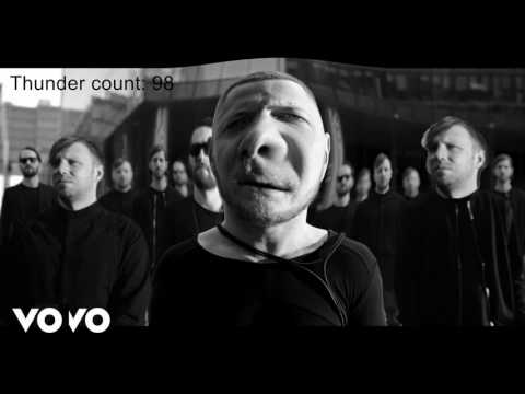 Imagine Dragons - Thunder but every noun is replaced with the word thunder