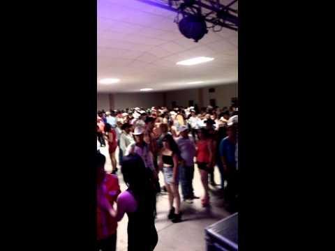 Baile en satevo con indomable 2014
