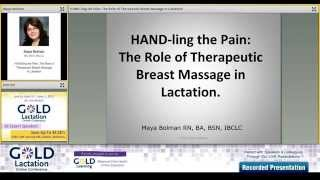 Interview with Maya Bolman,BA, BSN, IBCLC for GOLD Lactation Online Conference 2015