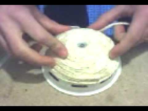 Canários Como fazer ninhos de corda