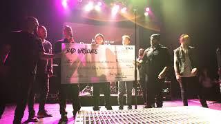 Bad Wolves – Family of Dolores O'Riordan $250k Check Presentation