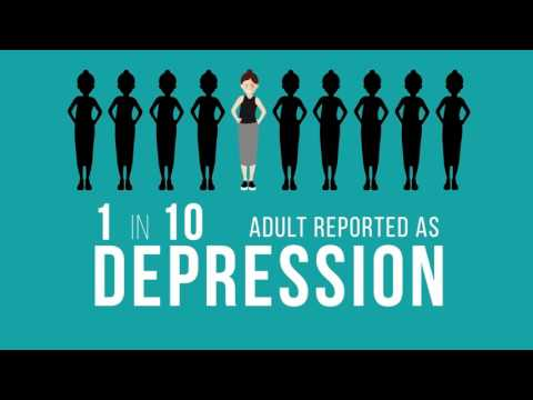 Depression motion graphic  awareness campaign