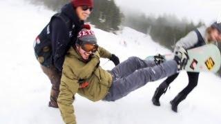25 Jahre K2 Snowboarding - Kranked Slalom Quali-Runs