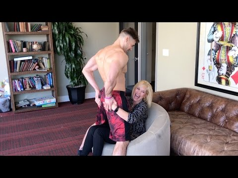 Mom Gets Lap Dance While Son Watches Awkward