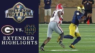 Georgia vs. Notre Dame I EXTENDED HIGHLIGHTS