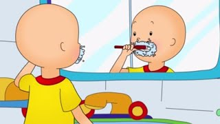 Funny Animated cartoons Kid | Caillou at the DENTIST | WATCH ONLINE | Cartoon for Children