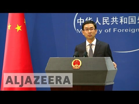 China 'seriously concerned' over Trump's stand