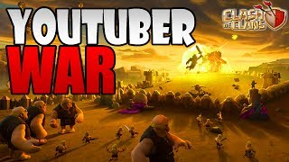 JUNE 2017 UPDATE SNEAK PEEK SUPERCELL vs YOUTUBERS WAR | Clash of Clans