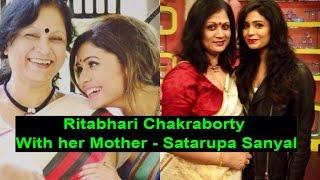 Rithabhari Chakraborty With her Mother Satarupa Sanyal - 2017