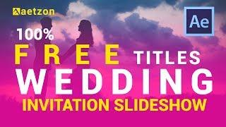 indian wedding invitation video templates free download - free wedding slideshow templates