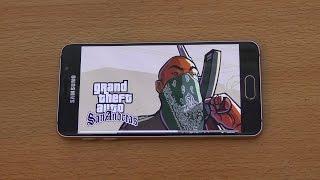 Samsung Galaxy A3 (2016) Gaming Review GTA San Andreas (4K)