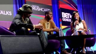 BET Genius Talks 2014 Snoop Dogg (Lion) Raps MC Lyte's Cha Cha Cha