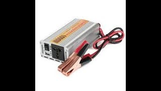 Dc 12 Volt To Ac 220 Volt Power Converter For Your Car 300W