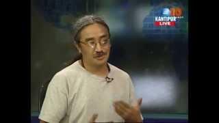 Nepathya Frontman Amrit Gurung interview on Kantipur TV