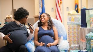 Husband Surprises Wife at Baby Shower! // 6.19.15