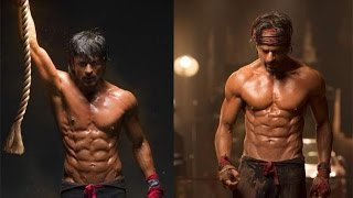 shahrukh khan 8 pack original still photos SRK in Happy New Year Movie
