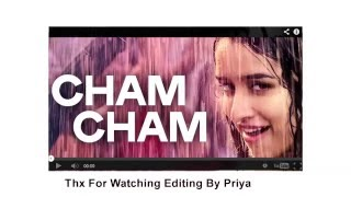 Cham Cham Full SONG LYRICS VIDEO  BAAGHI Movie Posted  By Kami Khan