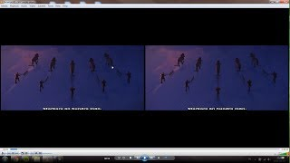 [2016,PC] SOLVED - How to watch a 3D Movie in 2D on VLC (Fixing the Double-Image Problem)