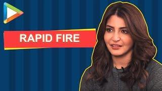 Shah Rukh Khan Ya Ranveer Singh? Anushka Sharma's UNIQUE Rapid Fire | Sui Dhaaga | Varun Dhawan