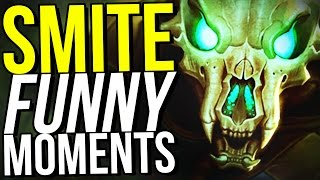 I QUIT. - SMITE FUNNY MOMENTS