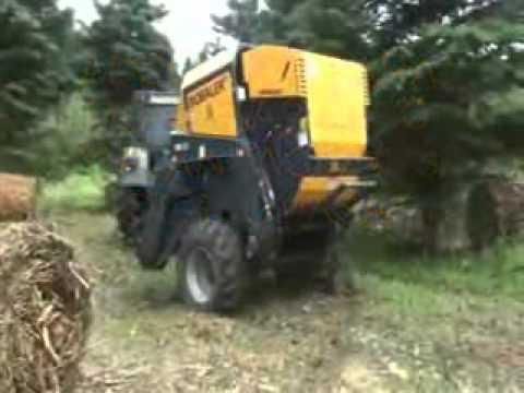 Empacadora de Biomasa Autoalimentada WB 55