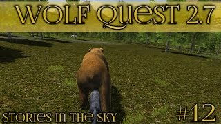 A Powerful Hunting Instinct!! || Wolf Quest 2.7 - Stories in the Sky || Episode #12