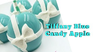 How To Create A Tiffany Blue Candy Apple