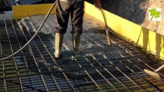 Como hacer un muro de hormigon armado