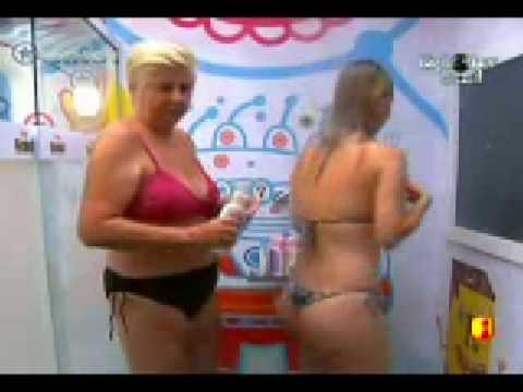 bbb 9 Big Brother Brasil 9 Ana Carolina mostra sua bela bunda