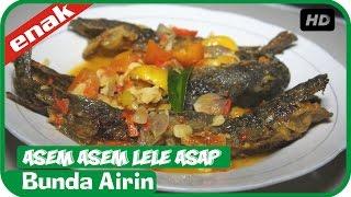 Asem Asem Lele Asap - Resep Masakan Jawa Cooking Recipes Indonesia Bunda Airin