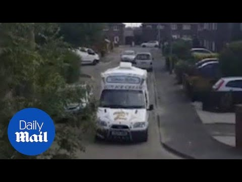 World Cup fever:  ice cream van man gets 'It's coming home' jingle