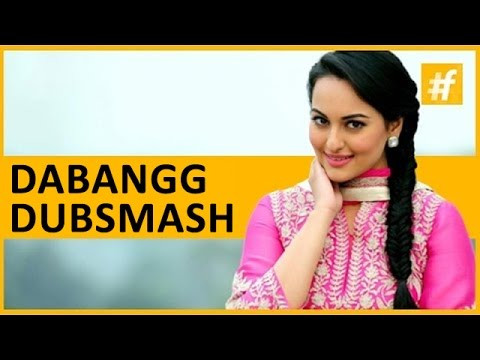 Akira Sonakshi Sinha's Dabang Dubsmash | Live on #fame Bollywood
