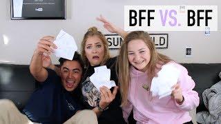 BEST FRIEND VS. BEST FRIEND CHALLENGE! | Mel Joy