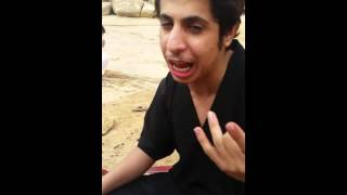 سعودي ذل حنجرهه الذهبيه يغني دبكه سوريه روعه😴💜.