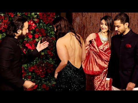 Xxx Mp4 Kareena Kapoor Saif Ali Khan Sara Soha Kunal Arrives At Ranveer Deepika S Wedding Reception 3gp Sex
