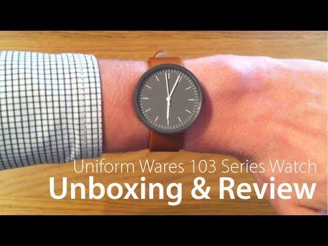 Uniform Wares 103 Series Watch - Unboxing & Review