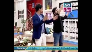 Afzal Khan Superb Dance Along With Faisal Qureshi And Sahiba