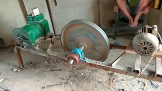 Flywheel free energy generator is not working 😢😢