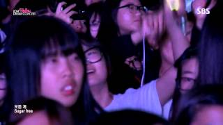 T-ara - Sugar Free 141012 SBS Hallyu Dream Concert