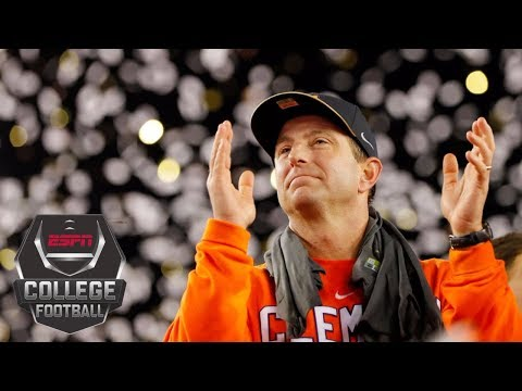 Clemson coach Dabo Swinney receives 8 year contract extension College Football Live ESPN