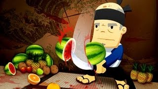 Fruit Ninja HD - Free Game Review Gameplay Trailer for iPhone iPad iPod