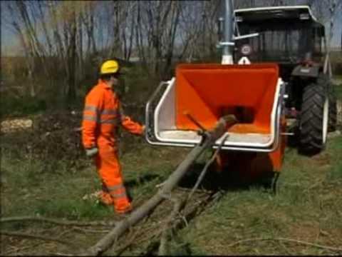 Cippatrice Biomassa