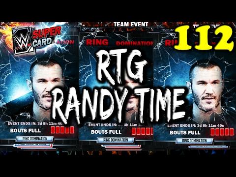 WWE SUPERCARD S3 #112 – RANDY TIME BABY – RANDY ORTON RTG