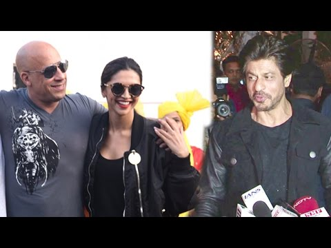 Xxx Mp4 SRK On Vin Diesel Arriving In India To Promote XXX 3 Movie With Deepika Padukone 3gp Sex