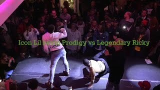 Icon Lil Kevin Prodigy vs Legendary Ricky Allure Ota Performance @ Unity Ball 2016 Part 6
