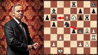 تضحيات خالدة في الشطرنج  : تحفة غاري كاسباروف