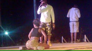 Dirty dancing at Amalura concert - Spenah Beach