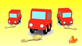 LITTLE LOST CAR! - Cartoon Cars for kids