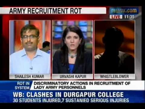 News X : Indian Army female officers & gender discrimination